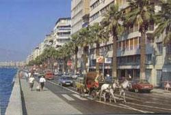 Город измир турция набережная измира